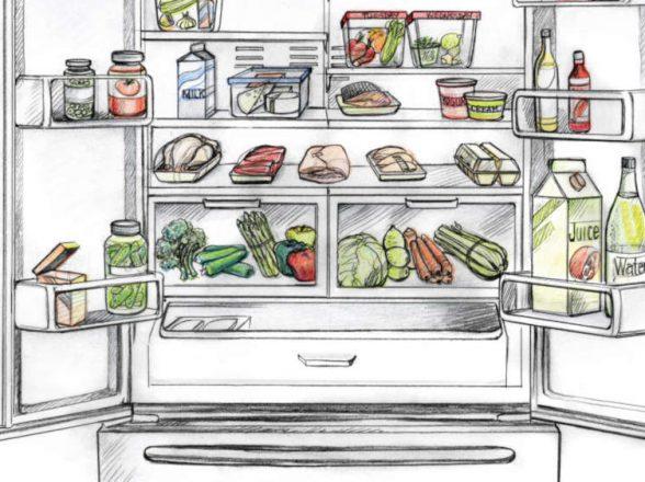 Βασικοί κανόνες για την τοποθέτηση τροφίμων στο ψυγείο συντήρησης